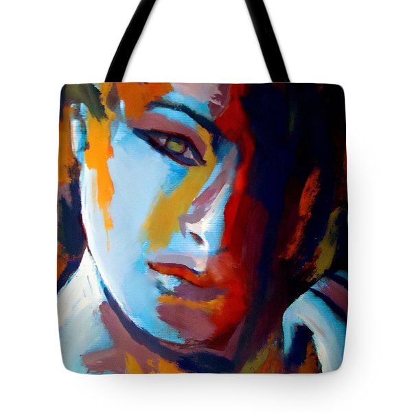 Divided Tote Bag by Helena Wierzbicki