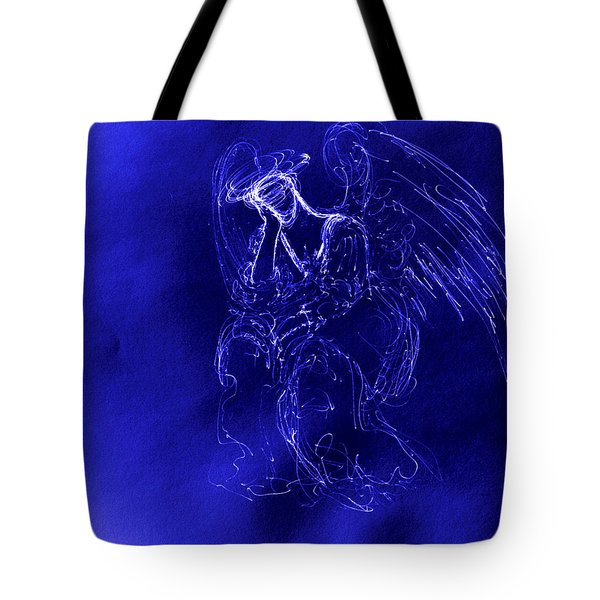 Divine Angel Tote Bag