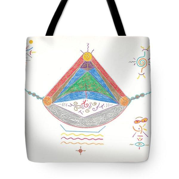 Divine Balance Tote Bag