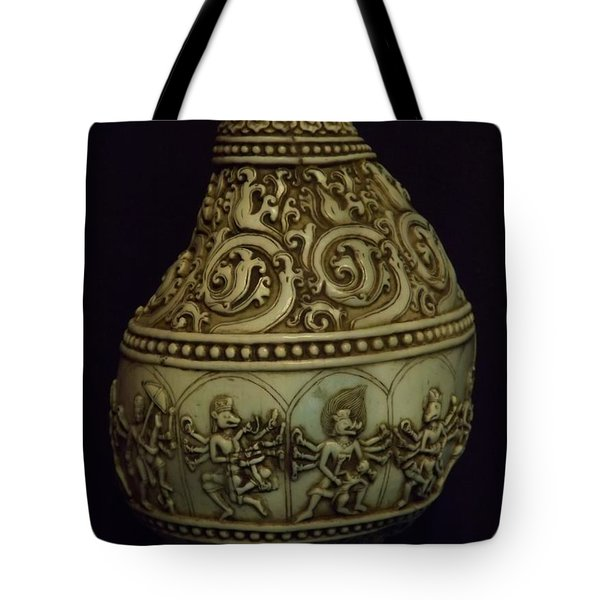 Divine Conch Hindu God Varaha Tote Bag