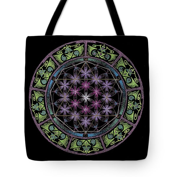 Tote Bag featuring the painting Divine Feminine Energy by Keiko Katsuta