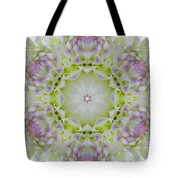 Divine Grace Mandala Tote Bag