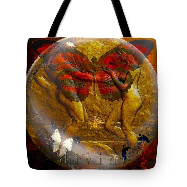 Divine Tote Bag by Joseph Mosley