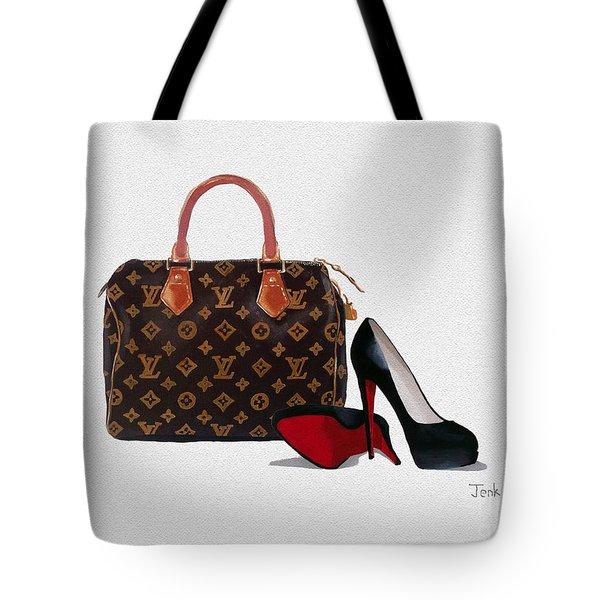 Divine Tote Bag by Rebecca Jenkins