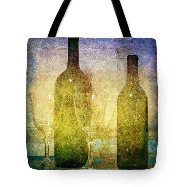 Tote Bag featuring the photograph Divine Wine by Judy Hall-Folde