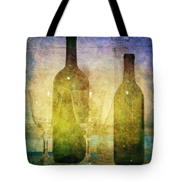 Divine Wine Tote Bag