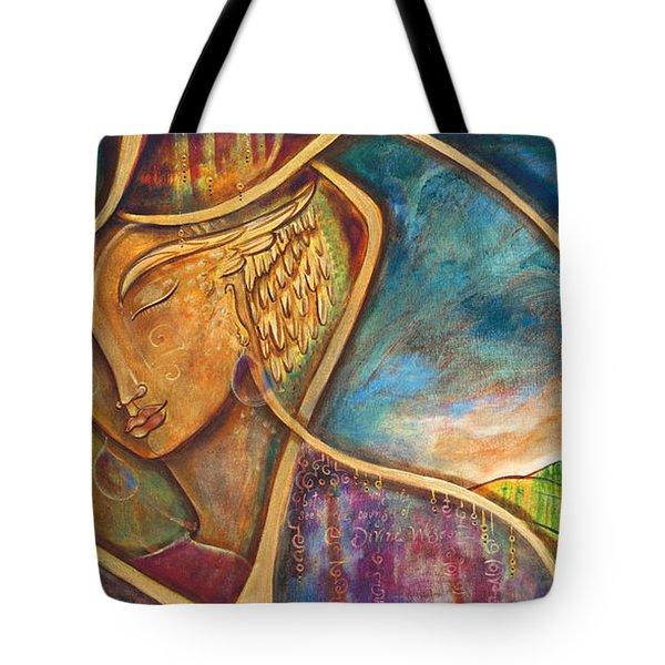 Divine Wisdom Tote Bag by Shiloh Sophia McCloud