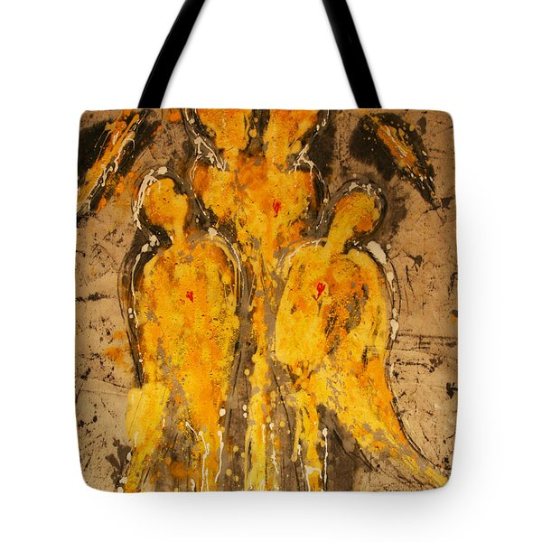 Divinely Protected Tote Bag