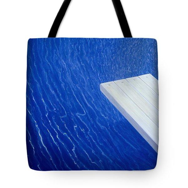 Diving Board 2004 Tote Bag
