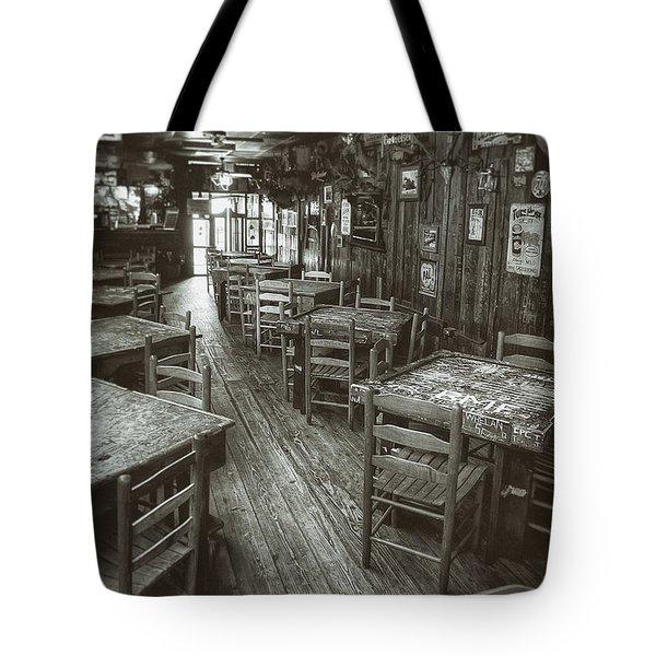 Dixie Chicken Interior Tote Bag