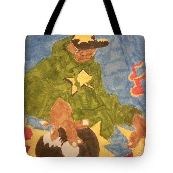 Dj Rapper Tote Bag