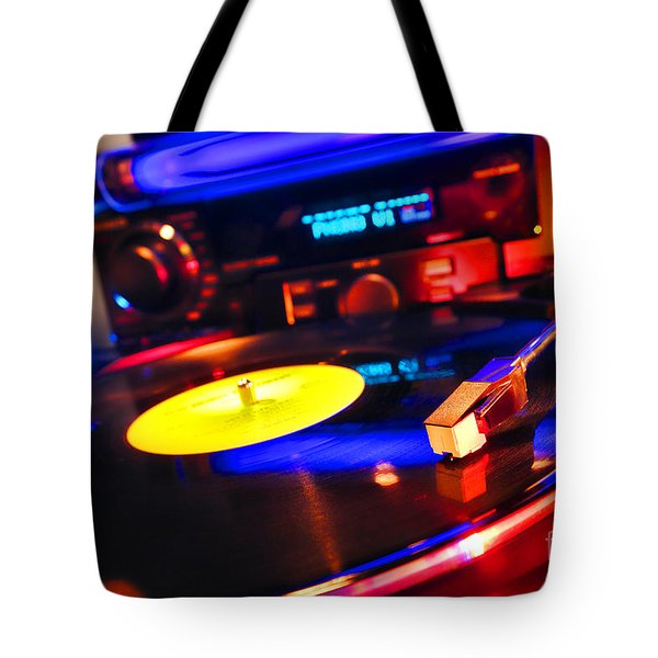Dj 's Delight Tote Bag