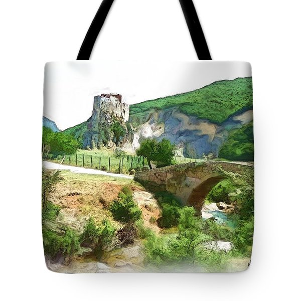 Do-00403 Mussaylaha Fort  Tote Bag by Digital Oil