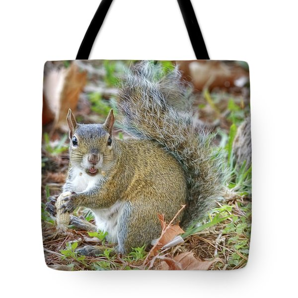 Do I Have Any On My Face Tote Bag by Deborah Benoit