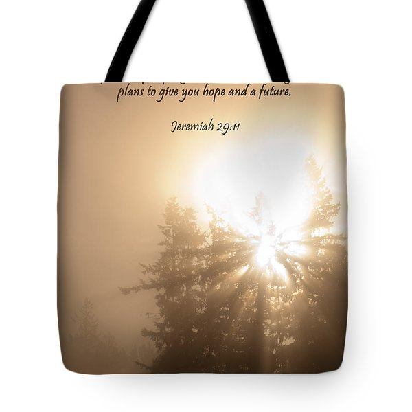 Do Not Be Afraid Tote Bag by Jani Freimann