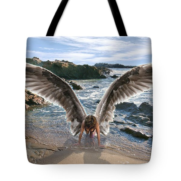 Do Not Fear I Have Come In Your Defense Tote Bag