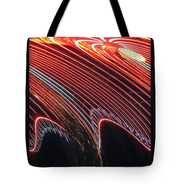 Do The Wave Tote Bag by Marian Bell