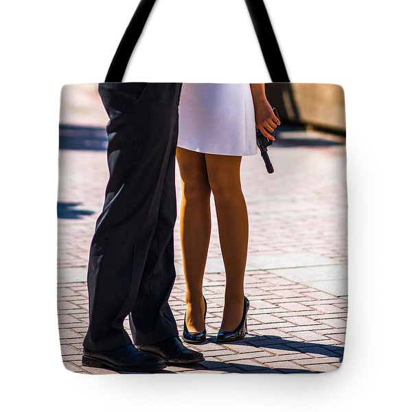 Do You Love Me? - Featured 3 Tote Bag by Alexander Senin