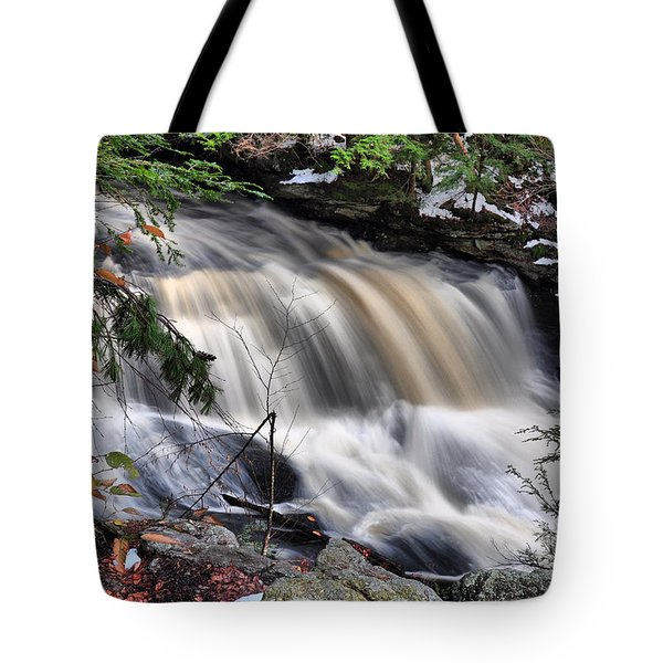 Doane's Lower Falls In Central Mass. Tote Bag