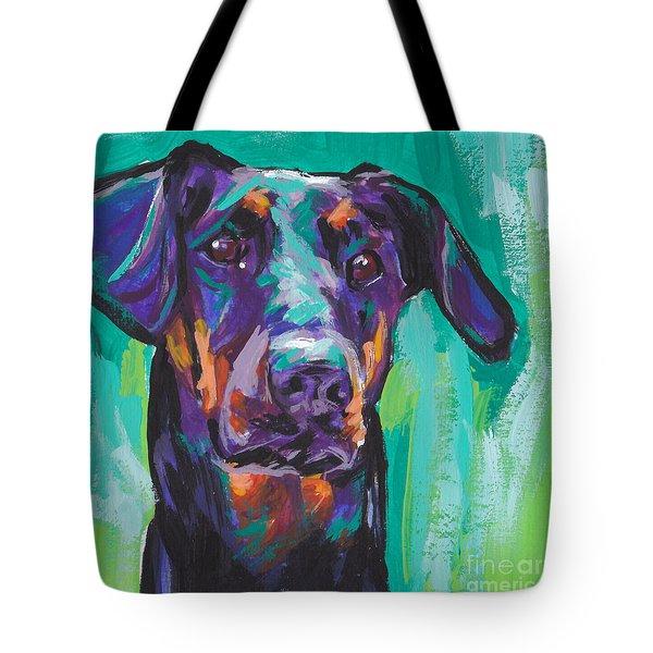Dobie Love Tote Bag