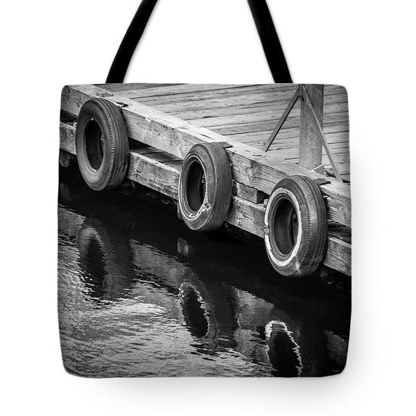 Dock Bumpers Tote Bag by Melinda Ledsome