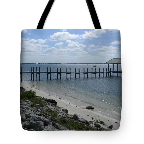 Dock In Stuart Tote Bag