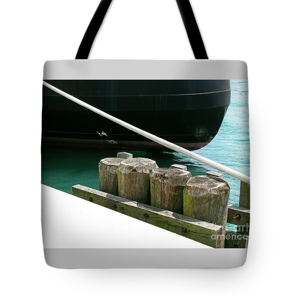 Docked Tote Bag by Ann Horn