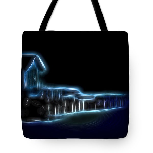 Dockside Moonlight Tote Bag