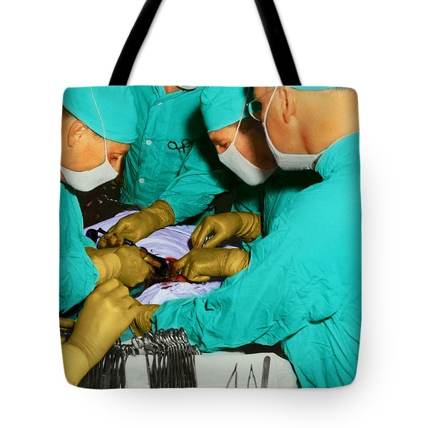 Doctor - Concentration Required Tote Bag by Mike Savad