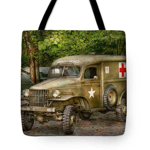 Doctor - Mash Unit  Tote Bag by Mike Savad