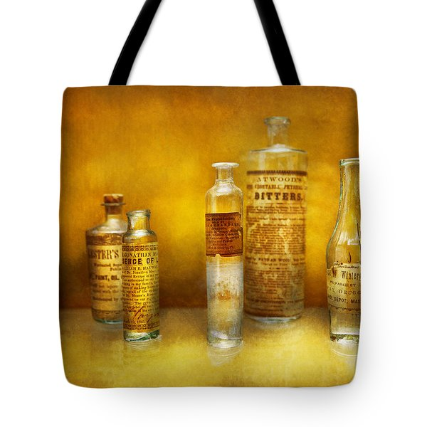 Doctor - Oil Essences Tote Bag by Mike Savad