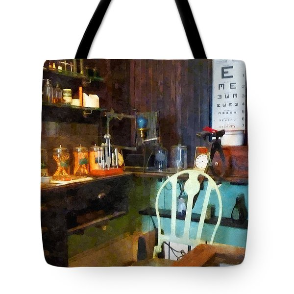 Tote Bag featuring the photograph Doctor - Pediatrician's Office by Susan Savad