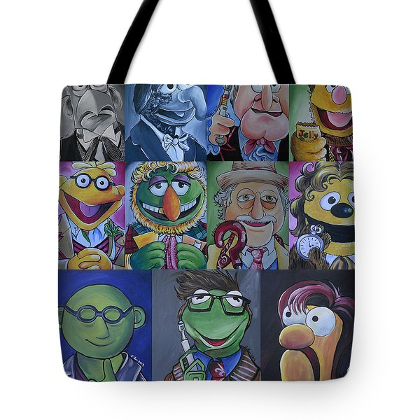 Doctor Who Muppet Mash-up Tote Bag by Lisa Leeman