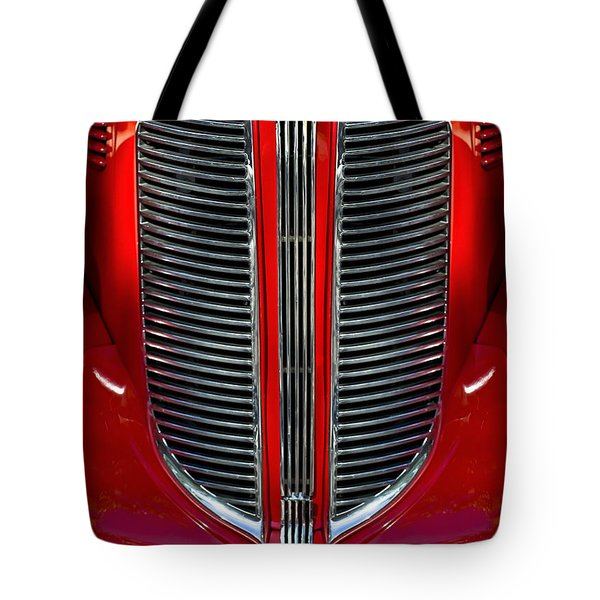 Dodge Brothers Grille Tote Bag by Jill Reger
