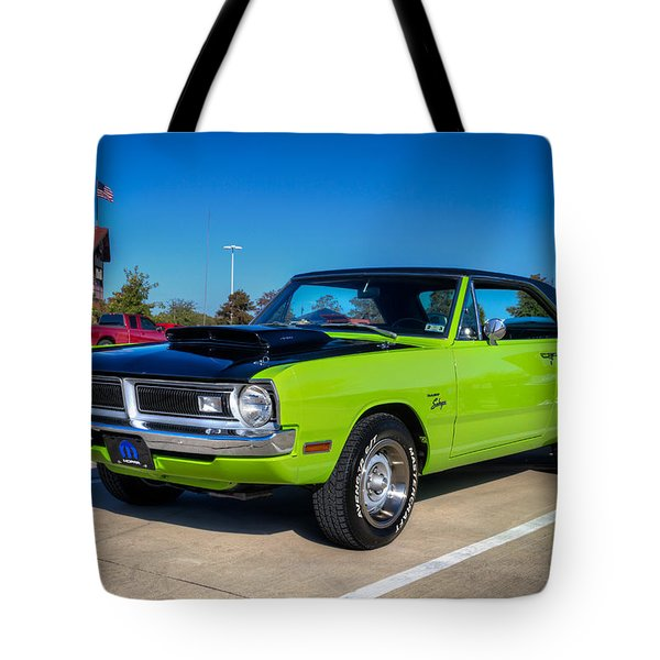Dodge Dart Swinger Tote Bag by Tim Stanley