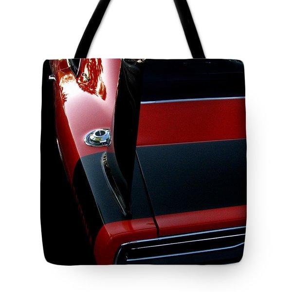 Dodge Daytona Fin Tote Bag by Peter Piatt
