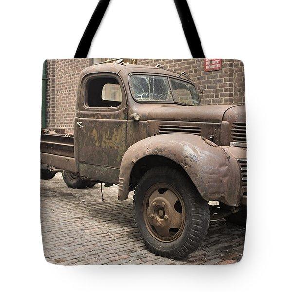 Dodge Me In Tote Bag