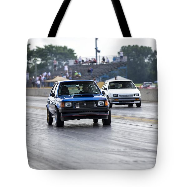 Dodge Omni Glh Vs Rwd Dodge Shadow - Without Times Tote Bag