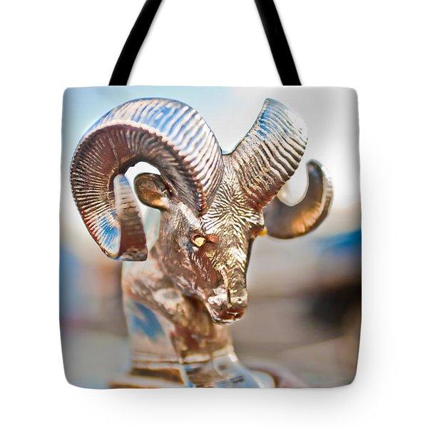 Dodge Ram Hood Ornament 3 Tote Bag by Jill Reger