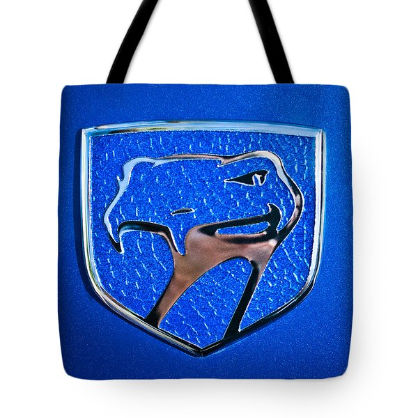 Dodge Viper Emblem -217c Tote Bag