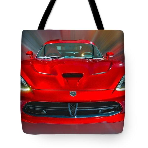 Dodge Viper Srt  2013 Tote Bag