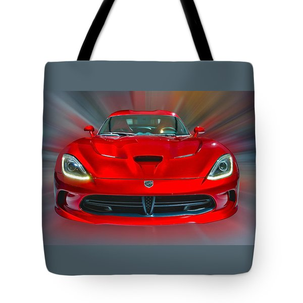 Dodge Viper Srt  2013 Tote Bag