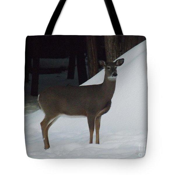 Doe A Deer Tote Bag by Brenda Brown