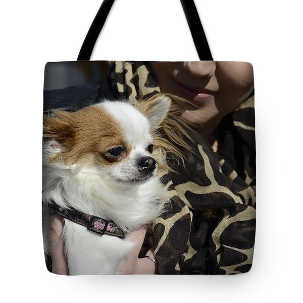 Dog And True Friendship 2 Tote Bag