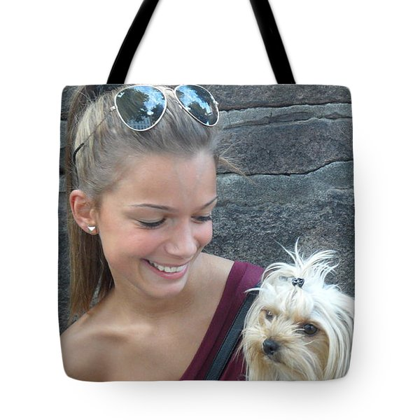 Dog And True Friendship 4 Tote Bag