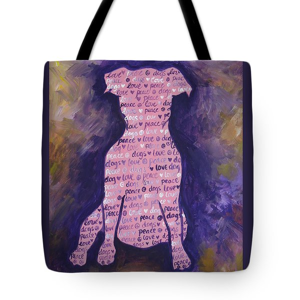 Dog Day Tote Bag