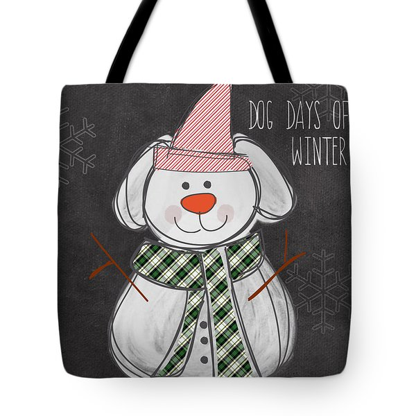 Dog Days  Tote Bag by Linda Woods