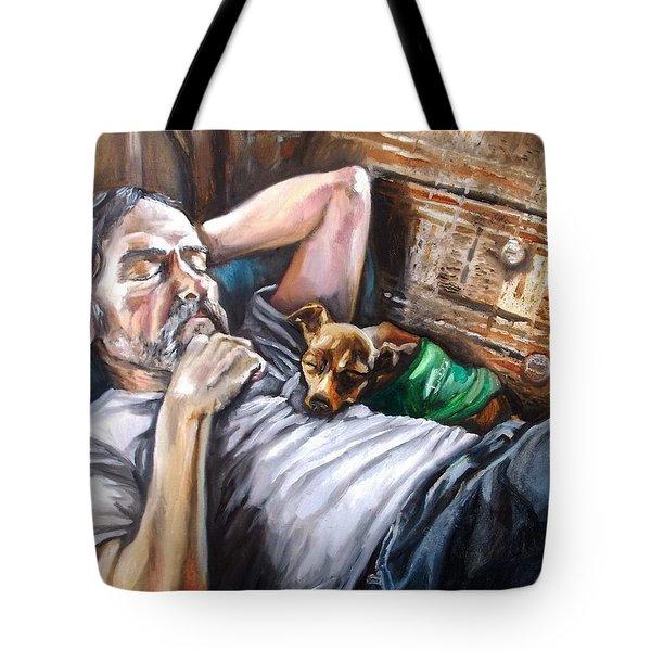 Dog Days Tote Bag by Shana Rowe Jackson