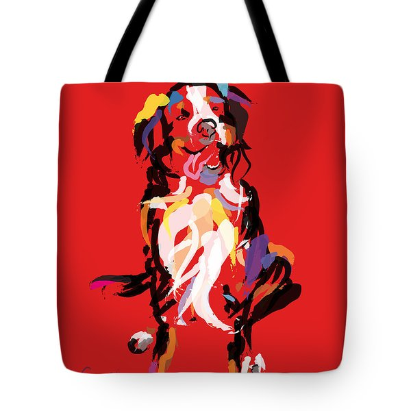 Dog Iggy Tote Bag