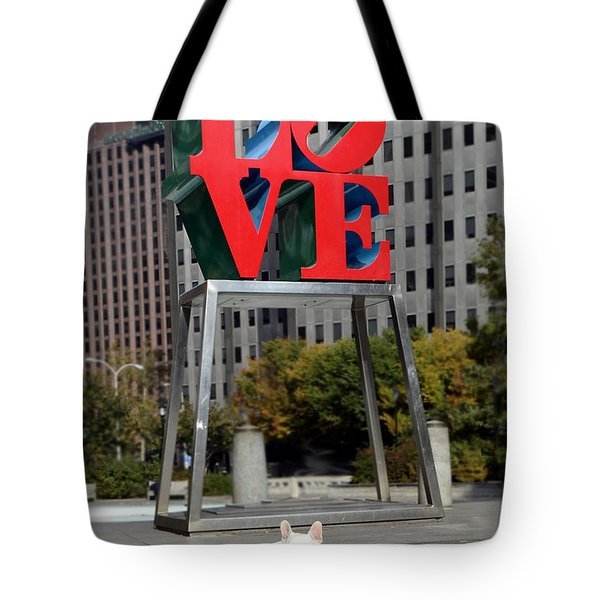 Dog Love Tote Bag by Lisa Phillips